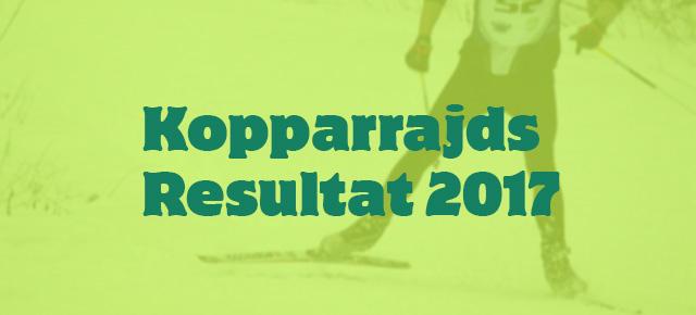 2017 Kopparrajds Resultat