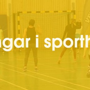 Träningar i sporthallen